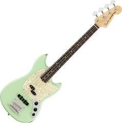 Fender American Performer Mustang Bass RW Satin Surf Green