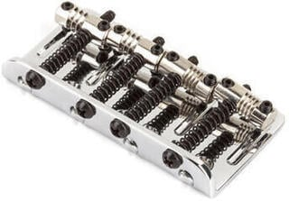 Fender American Deluxe 4-String Bass Bridge Assembly Chrome