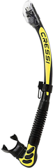 Cressi Alpha Ultra Dry Snorkel Black/Yellow