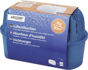 Absodry Dehumidifier Big Compact 1000 g