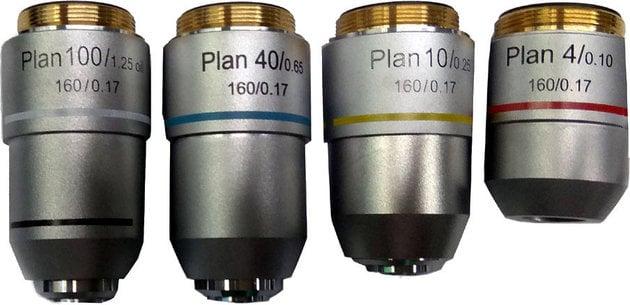 Levenhuk MED 900 Plan Achromatic Objectives Set