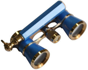 Levenhuk Broadway 325L Blue Wave Lorgnette Opera Glasses