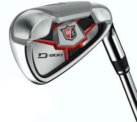 Wilson Staff D200 Irons Right Hand 5-SW Steel Uniflex