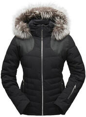 Spyder Falline Real Fur Womens Jacket Black/Black 10