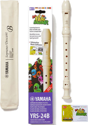 Yamaha YRS-24B Flute Master Bundle