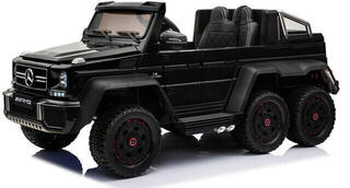 Beneo Electric Ride-On Car Mercedes-Benz G63 6X6 Black Paint