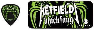 Dunlop PH 112T 73 Hetfield Black Fang pick set 0.73 mm.