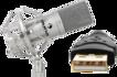 USB mikrofony