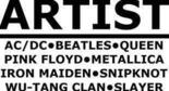 Thema / Künstler / Musikband